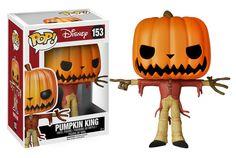 Cabezón Jack the Pumpkin King 10 cm. Línea POP! Disney. Pesadilla antes de Navidad. Funko Estupendo cabezón Jack the Pumpkin King de 10 cm perteneciente a la línea POP!, fabricado en material de vinilo y por supuesto 100% oficial y licenciado. Perfecto para regalar a cualquier fan.