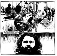 """Von den offenen """"Türen des Bewusstseins"""" bis hin zum Tod in Paris. """"Jim Morrison - Poet des Chaos"""" (Bertocchini und Jef)"""