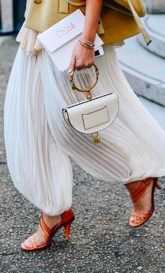 Chloe Bag, Nile Bag, Street Style