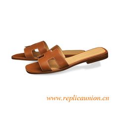 7caa1dcbee1ad Coffee Hermes oran sandals for women. Alen ReplicaUnion · Original Design  Hermes Oran Sandals and Slippers ...