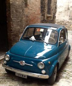Vintage Fiat 500.