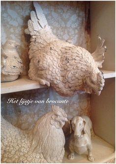 In my shop Het lijstje van brocante....by Silvia Hokke