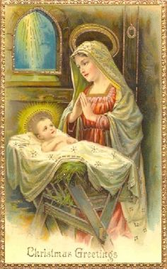 Holy babe, the child of Mary.