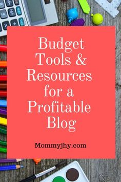 New bloggers can use these budget tools and resources to create a profitable blog. #BudgetBlogTools #ProfitableBlog #CheapBlogResources #OnlineWork