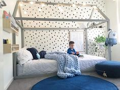 This divine little boy's room was created by for We love it (and we think our Play print fits in just perfectly) Boy Toddler Bedroom, Baby Bedroom, Baby Boy Rooms, Girls Bedroom, Bathroom Kids, New Room, Girl Room, Shops, Home Decor