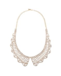 Crystal Lace Collar
