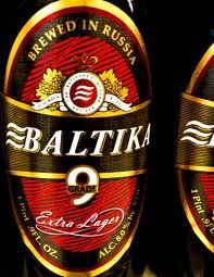 Baltika 9 Extra Lager 16.9oz 6pk cans