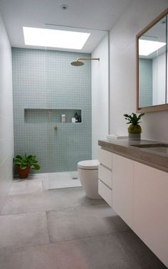 Lovely Bathroom Shower Remodel Ideas shower design a remarkable sizable feeling for your bathroom renovating task. The absence of blockages uses a smooth change from the rest of the bathroom. Bad Inspiration, Bathroom Inspiration, Bathroom Ideas, Ikea Bathroom, Bathroom Mirrors, Bathroom Inspo, Bathroom Organization, Bathroom Storage, Contemporary Bathroom Designs