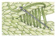 How to sew various knit pieces together (with helpful illustrations).