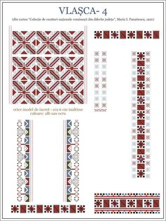 Creative Embroidery, Folk Embroidery, Learn Embroidery, Embroidery Stitches, Embroidery Patterns, Cross Stitch Borders, Cross Stitch Patterns, Repeating Patterns, Textures Patterns