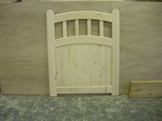 Handmade Double Arched Wooden Garden Gate