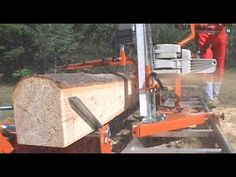 Mill Lumber with Your Chainsaw - Norwood PortaMill Chainsaw Sawmill - Portable Chain Saw Mill - YouTube