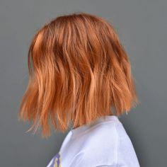 Ginger Hair Color, Hair Color For Black Hair, Cool Hair Color, Ginger Hair Dyed, Honey Hair, Hair Colors, Brown Blonde Hair, Aesthetic Hair, Orange Aesthetic