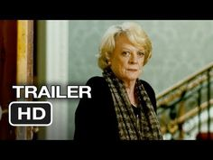 On my 'watch' list..  Quartet Official Trailer #1 (2012) - Dustin Hoffman Movie HD       At a home for retired opera singers, the annual concert to celebrate Verdi's birthday is disrupted by the arrival of Jean, an eternal diva and the former wife of one of the residents        movie...