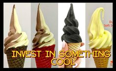 Cebuanos aspiring to be entrepreneurs can now start their own soft-serve ice cream business without paying a huge franchise fee as Judea Enterprises and their distributor Golden Enterprises open… Ice Cream Business, Visayas, Mindanao, Soft Serve, Cebu, Business Opportunities, Philippines, Opportunity, Rose