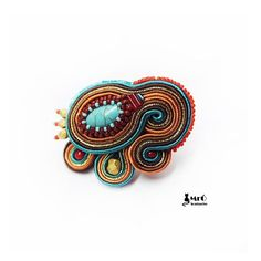 Amiya Baeutiful Etnic Soutache Ring  by MrOsOutache on Etsy