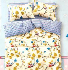 Beautiful Owl bedsheet 100% Cotton king size