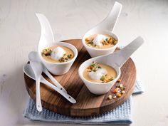 Sadonkorjuun juustocapuccino ✦ Katso kaikki reseptit ammattilaisille: http://valio.ly/ruokaohjeet-ammattilaisille