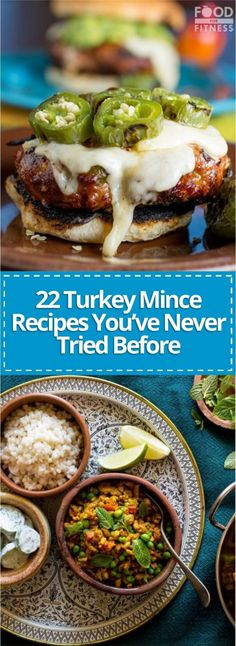 Turkey mince is a fantastic, low fat and tasty alternative to beef mince. We've picked out 22 of our favourite healthy turkey mince recipes for you to try. Healthy Turkey Mince Recipes, Lamb Mince Recipes, Ground Turkey Recipes, Meat Recipes, Healthy Recipes, Minced Turkey Recipes, Mince Meals, Healthy Food, Pork Mince