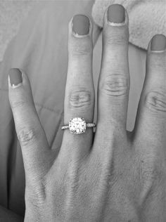 perfect. I've never found a ring I have liked more than this one. Someone tell my future husband about this ring bc its the one I want ;)