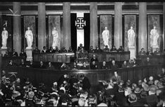 "Government officials of the Austrofascist Federal Council - solely ruled by the Fatherland Front - gather to form policy for the new Austrian state. Austrofascism was far different than German National Socialism. It sought to forge a society governed along guidelines of Catholicism & pre-(French) revolutionary ideals. Unlike the largely Protestant Germans of the north, the Catholic Austrofascists viewed themselves as the ""better Germans"", outright rejecting any notion of unifying with the… The Good German, Socialism, Catholic, French, History, Federal, Historia, French People, French Language"