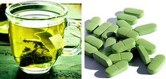 It appears that getting your green tea in the form of a nutritional supplement has advantages over drinking the tea.