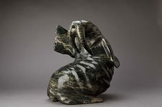 "Inuit, ""Walrus"" by Nuna Parr, Cape Dorset, Soapstone, 17.75 x 16 x 11"""