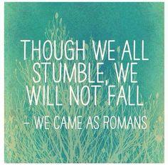 We all stumble