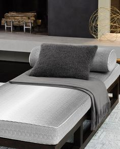 Collio Decorative Pillow by Sferra – toptrendpin. House Paint Interior, Home Interior Design, Interior Modern, Scandinavian Interior, Luxury Interior, Home Design, Interior Decorating, Simple Bedroom Decor, Bedroom Ideas