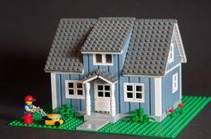 Zweeds huis... in Lego!