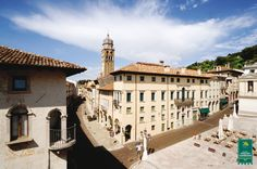 Cityscape of Conegliano, in Treviso Province, Italy. Conegliano is renown for Prosecco and was a major stop on the Sister Cities of Sarasota delegation visit to the Province in 2010.