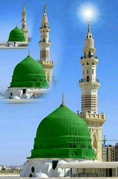 Medina Islam, Medina Mosque, Islamic Images, Islamic Pictures, Islamic Art, Ali Islam, Islam Muslim, Islamic Sites, Ramadan