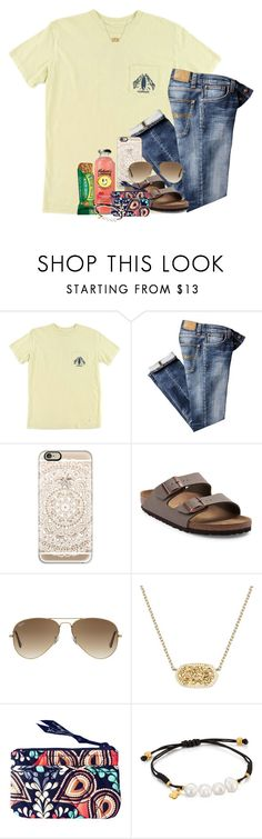 """""""I miss my friends 😪"""" by southernstruttin ❤ liked on Polyvore featuring O'Neill, Nudie Jeans Co., Casetify, Birkenstock, Ray-Ban, Kendra Scott, Vera Bradley and TOUS"""