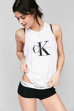 Calvin Klein For UO Racerback Tank Top - Urban Outfitters