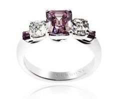 The Ideal ring, with a pink diamond...too bad its like a million bucks!!