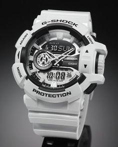 カシオGショックCASIOG-SHOCKハイパーカラーズ腕時計メンズホワイトアナデジGA-400-7AJF【カシオGショック2014新作】【正規品】【送料無料】【smtb-k】【w3】【楽ギフ_包装】