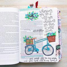 Ruth Bible Journaling   Instagram: @christiangirls