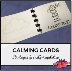 Fun, free ideas (and printable) for helping everyone with self-regulation skills!