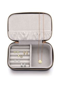 Live As You Dream' Mini Jewellery Box | Estella Bartlett Travel Jewellery Box, Jewellery Boxes, Jewellery Storage, Michael Kors Outlet, Michael Kors Jet Set, Jewel Box, Green Bag, Traveling By Yourself, Zip Around Wallet