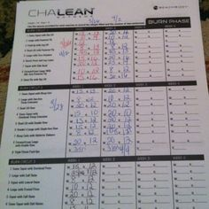 Printables Chalean Extreme Worksheets collection of chalean extreme worksheets bloggakuten photos kaessey