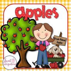 """Enjoy a """"applelicious"""" taste of my apple life cycle unit. In the complete life…"""