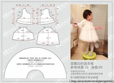 Kids Clothes Patterns, Baby Dress Patterns, Sewing Patterns For Kids, Baby Kids Clothes, Girl Doll Clothes, Sewing For Kids, Sewing Clothes, Baby Sewing Tutorials, Baby Sewing Projects