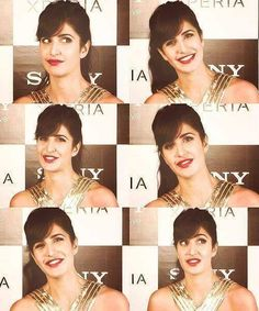 Katrina Kaif Most Beautiful Bollywood Actress, Beautiful Actresses, Ranbir Kapoor Hairstyle, Heart Shaped Face Hairstyles, Katrina Kaif Photo, Celebrity Singers, Pretty Makeup Looks, Bridal Looks, Looking Gorgeous
