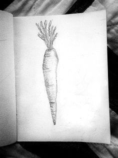 Day 12 Sketch (Bridgette) The Carrot #30daysketchbookchallenge