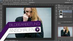 Bildbearbeitung Photoshop - Freistellen vom Model