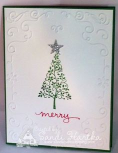 Festival of Trees, Endless Wishes, Stampin'Up! hand-stamped greeting cards, sandihartka@sandilovesstamping.com