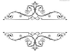 Floral frame template pdsgraphics