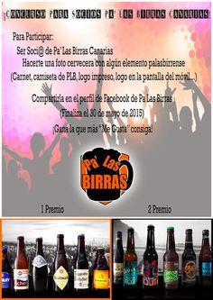 Pa' Las Birras: Concurso Socios Pa' Las Birras Canarias I