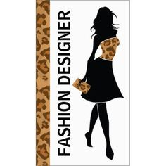 Fashion Designer Girl Silhouette With Brown Panther Print Business Cards http://www.zazzle.com/fashion_designer_girl_with_brown_panther_print_business_card-240615112283105315?rf=238835258815790439&tc=GBCSewing1Pin