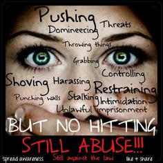 Still abuse! Yep yup verbal, mental and emotional abuse are just as bad if not worse. Verbal Abuse, Emotional Abuse, Abusive Relationship, Toxic Relationships, Relationship Memes, Abuse Quotes, Stop Bullying, Narcissistic Abuse, Psicologia
